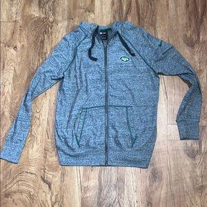 New York Jets Zip Up Sweatshirt NWOT